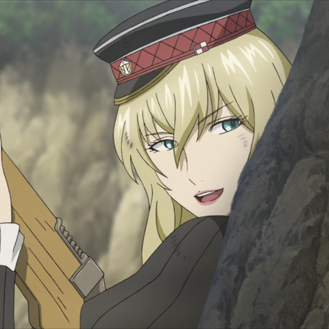 Leila's appearance in the Valkyria Chronicles 3 OVA.