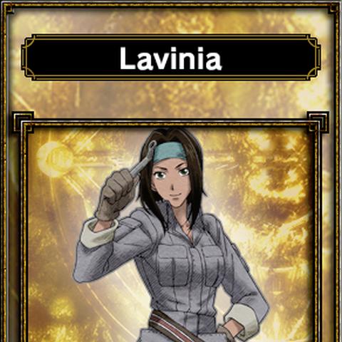 Lavinia's appearance in Samurai & Dragons.