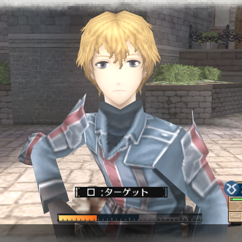 In-game screenshot of Homer in <i>Valkyria Chronicles 3</i>.