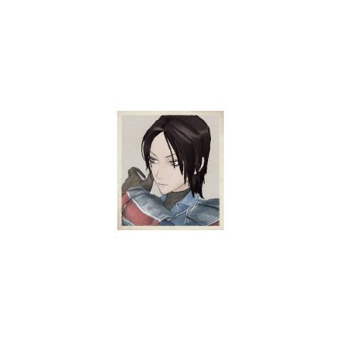 Jane's portrait in <i>Valkyria Chronicles</i>.