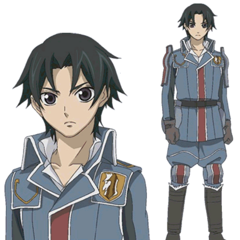 Ramal's appearance in the Valkyria Chronicles anime.