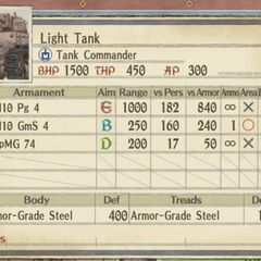 Light Imperial Tank 2