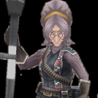 Gloria's CG appearance in Valkyria Chronicles 3.