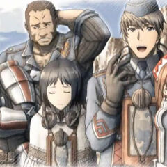 Squad 7 in <i>Valkyria Chronicles 3</i>.
