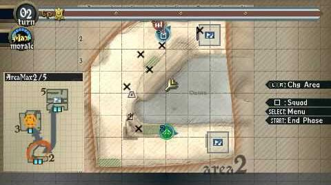 Valkyria Chronicles 2 - September - Towers of Death (Normal) Key Mission