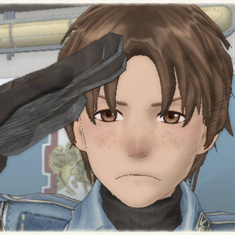 Emile's appearance in Valkyria Chronicles.