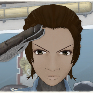 Rosina's appearance in Valkyria Chronicles.