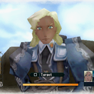 In-game screenshot of Nahum in Valkyria Chronicles 2.