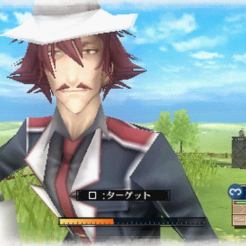 In-game screenshot of Elliot.