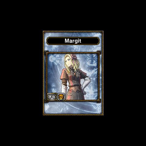 Margit's appearance in <i>Samurai & Dragons</i>.