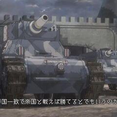 Gallian tanks defending <a href=