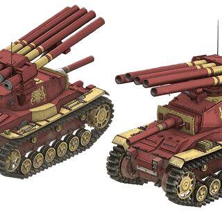 Audrey Gassenarl's personal tank, the Geirolul