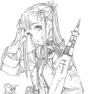 Concept artwork of Alicia's Prototype <i>Alma</i>.