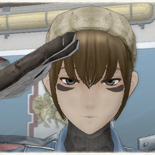 Wendy's appearance in Valkyria Chronicles.
