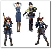 SR Valkyria Chronicles Figure Collection