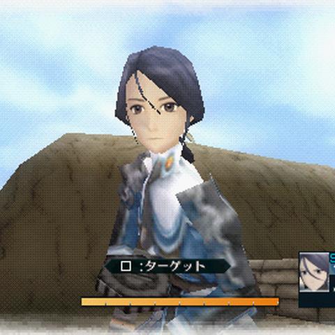 In-game screenshot of Lynn in <i>Valkyria Chronicles 2</i>.