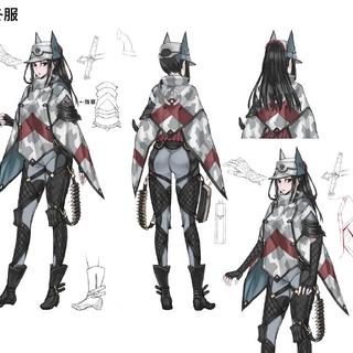 Winter combat uniform.