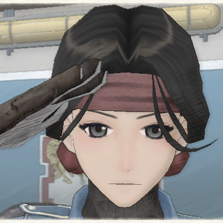 Claudia's appearance in Valkyria Chronicles.