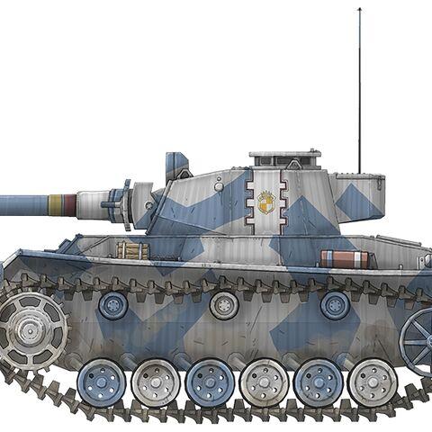 A Type 36 Medium tank