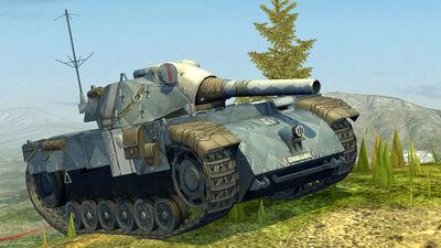 World of Tanks Blitz Edelweiss