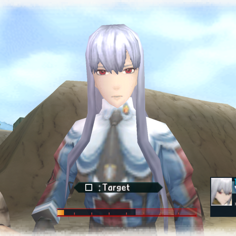 In-game screenshot of Selvaria.