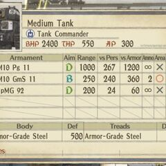 Medium Imperial Tank 2 (cannon version)