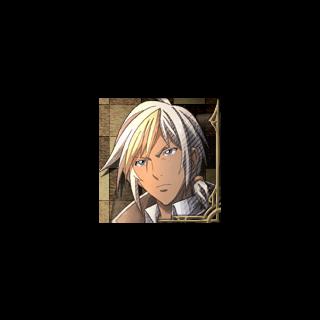 Felix's portrait in <i>Valkyria Chronicles 3</i>.