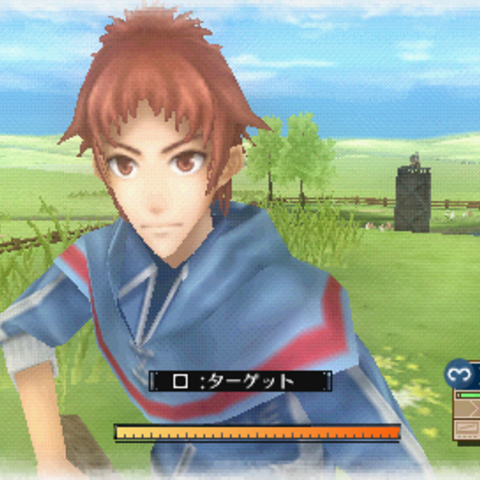 In-game screenshot of Avan.