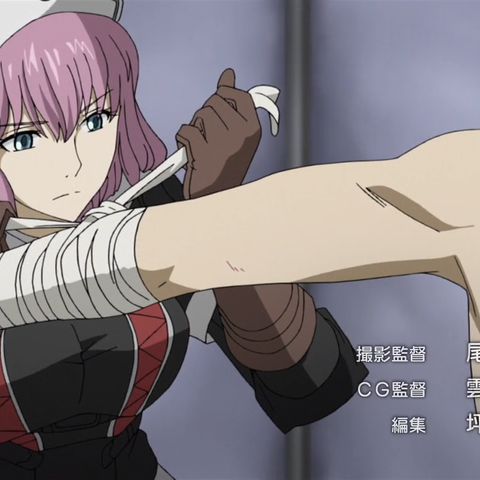 Clarissa's appearance in the Valkyria Chronicles 3 OVA.