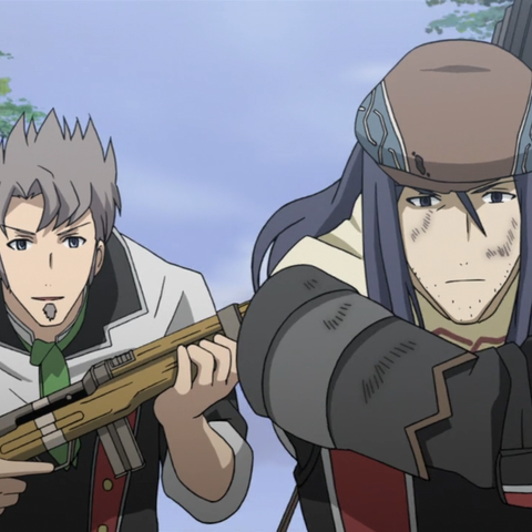 Deit's appearance in the <i>Valkyria Chronicles 3 OVA</i>.