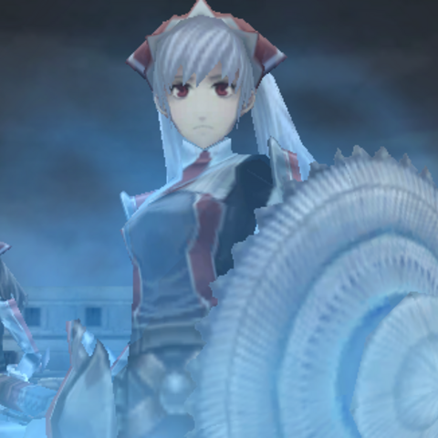 Alicia's cut-in for <i>Valkyria</i>.