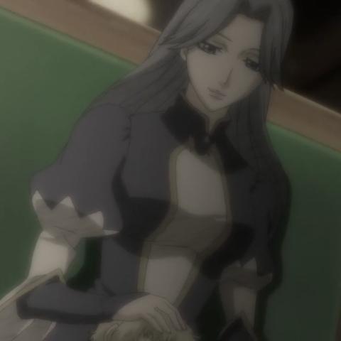 Maximilian's mother.