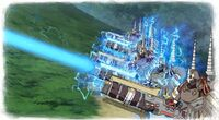 Artificial Valkyria battle