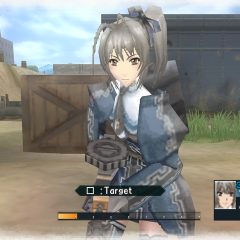 In-game screenshot of Anisette.