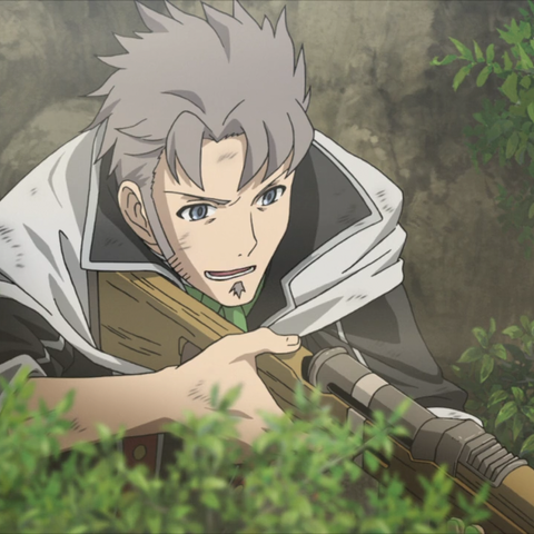 Giulio's appearance in the <i>Valkyria Chronicles 3 OVA</i>.