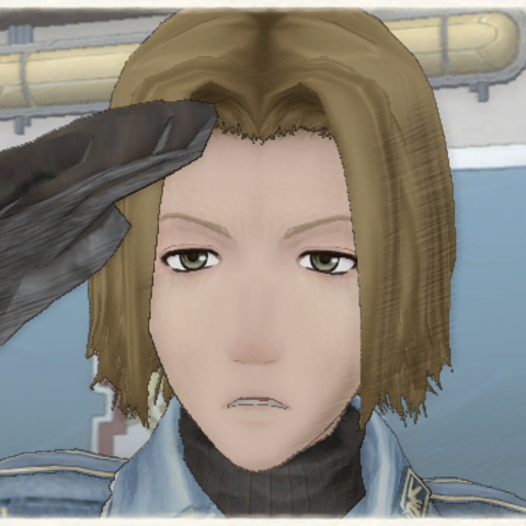 Herbert's appearance in Valkyria Chronicles.