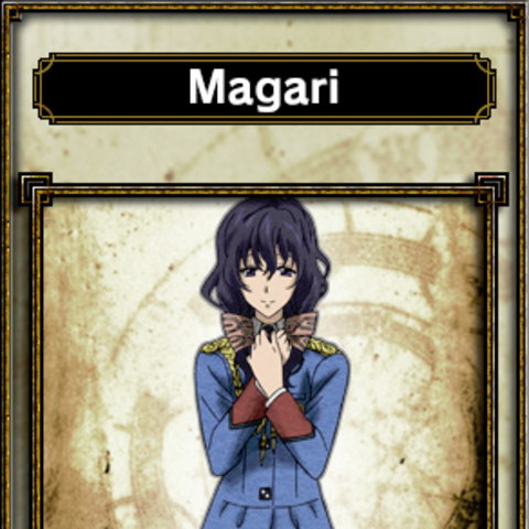 Magari's appearance in <i>Samurai & Dragons</i>.