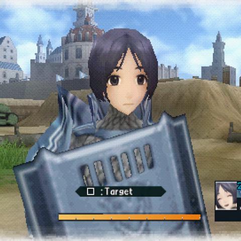 In-game screenshot of Isara.