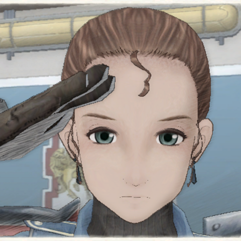 Dorothy's appearance in Valkyria Chronicles.