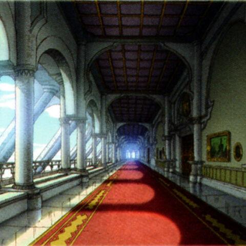 Inside a hallway