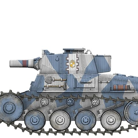 A Type 36 Light Tank, B-Model
