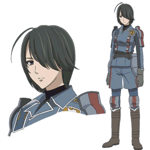 Marina's appearance in the <i>Valkyria Chronicles Anime</i>.