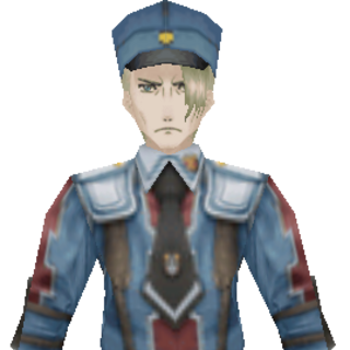 Helmut's CG appearance in Valkyria Chronicles 2.