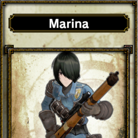 Marina's appearance in <i>Samurai &amp; Dragons</i>.