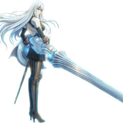 Selvaria's appearance.