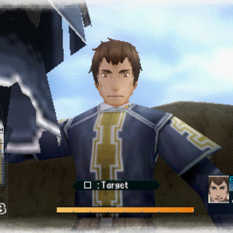 In-game screenshot of Reiner