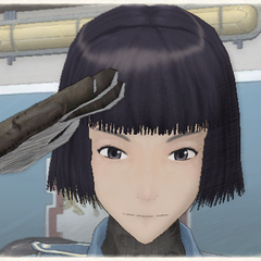 Nadine's appearance in Valkyria Chronicles.