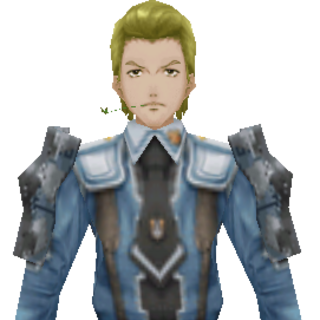 Erik's CG appearance in Valkyria Chronicles 2.