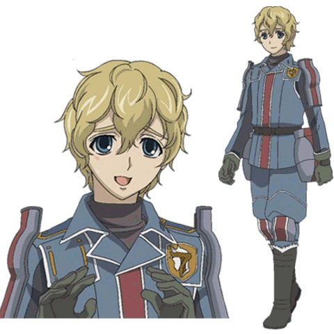 Homer's appearance in the <i>Valkyria Chronicles Anime</i>.