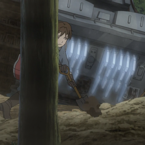 Emile's appearance in the Valkyria Chronicles 3 OVA.